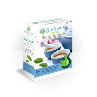 SteSweet Stevia Sticks + I, 50pcs.