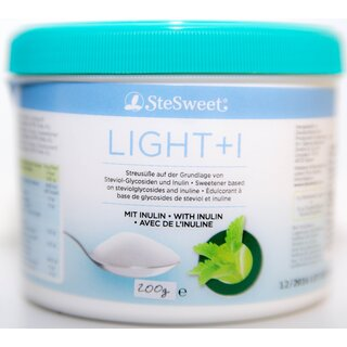 SteSweet Stevia Light + I, 200g